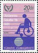 [International Year of Disabled Persons, Typ BUW1]