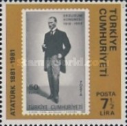 [The 100th Anniversary of the Birth of Kemal Ataturk, Typ BVE]