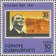 [The 100th Anniversary of the Birth of Kemal Ataturk, Typ BVF]