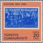 [The 100th Anniversary of the Birth of Kemal Ataturk, Typ BVG]