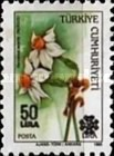 [Flowers and Road Safety Stamps Surcharged, type BZX1]