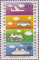 [EUROPA Stamps - Transportation and Communications, Typ CDS]