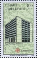 [EUROPA Stamps - Post Offices, type CGK]