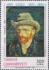 [The 100th Anniversary of the Death of Vincent van Gogh - Painter, type CGU]