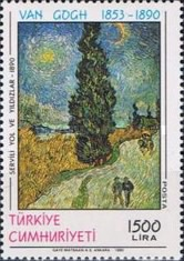 [The 100th Anniversary of the Death of Vincent van Gogh - Painter, type CGX]