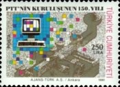 [The 150th Anniversary of the Ministry of Posts and Telecommunications, type CHD]
