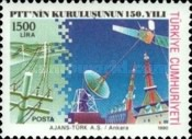 [The 150th Anniversary of the Ministry of Posts and Telecommunications, type CHF]