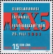 [The 25th Anniversary of the Istanbul Festival, Typ COR]