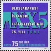 [The 25th Anniversary of the Istanbul Festival, Typ COR3]