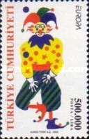 [EUROPA Stamps - The Circus, Typ CVL]