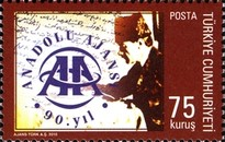 [The 90th Anniversary of the Anadolu Agency, type DPG]
