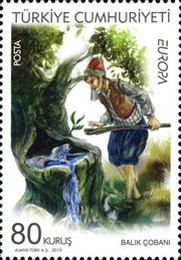 [EUROPA Stamps - Children's Books, Typ DPR]
