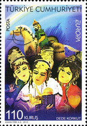 [EUROPA Stamps - Children's Books, Typ DPS]