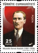[Definitive stamps featuring Ataturk, Typ DQA]
