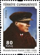 [Definitive stamps featuring Ataturk, Typ DQB]