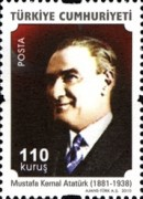 [Definitive stamps featuring Ataturk, type DQC]