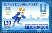 [The 25th Anniversary of the First Winter Universaide, Typ DRO]
