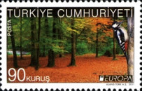 [EUROPA Stamps - The Forest, Typ DSC]