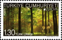 [EUROPA Stamps - The Forest, Typ DSD]