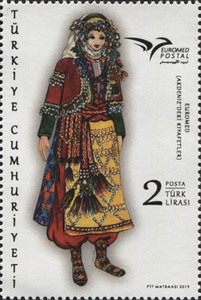 [EUROMED Issue - Traditional Costumes, type FKT]