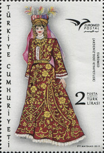 [EUROMED Issue - Traditional Costumes, Typ FKU]