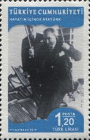 [Definitives - Life of Mustafa Kemal Atatürk, 1881-1938, type FKX]