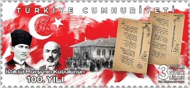 [The 100th Anniversary of the National Anthem of the Republic of Turkey, type FOL]