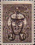 [Sultan Tugra Hamid II Stamps of 1908 Overprinted - No.153 Surcharged, Typ GM3]