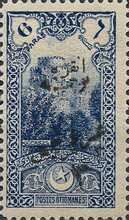 [No. 717-720 Re-Surcharged, Typ IO5]