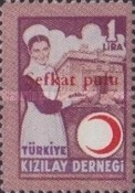 [Aid for the Wounded Stamps of 1946 Overprinted