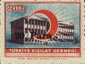 [Red Crescent Stamp of 1946 Surcharged, Typ DC]