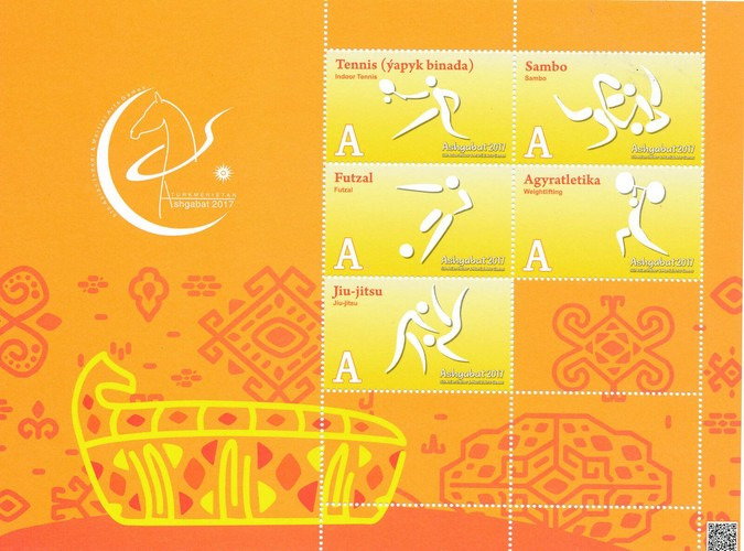 [The 5th Asian Indoor and Martial Arts Games - Ashgabat, type ]