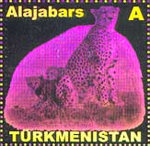[Fauna of Turkmenistan - Self Adhesive Stamps, type HB3]