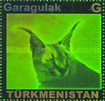 [Fauna of Turkmenistan - Self Adhesive Stamps, type HF]