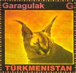 [Fauna of Turkmenistan - Self Adhesive Stamps, type HF1]