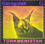 [Fauna of Turkmenistan - Self Adhesive Stamps, type HF2]