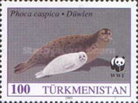 [Worldwide Nature Protection - The Caspian Seal, Typ U]