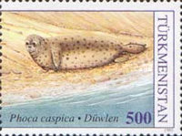 [Worldwide Nature Protection - The Caspian Seal, Typ W]