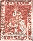 [Lion of Toscany - Printed on White Paper, Different Watermark, Typ A15]