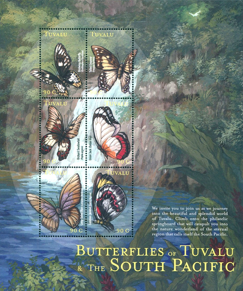 [South Pacific Butterflies, type ]