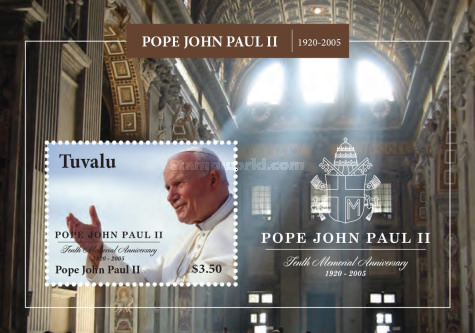 [The 10th Anniversary of the Death of Pope John Paul II, 1920-2005, type ]