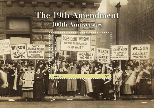 [The 100th Anniversary of the 19th Ammendment, type ]