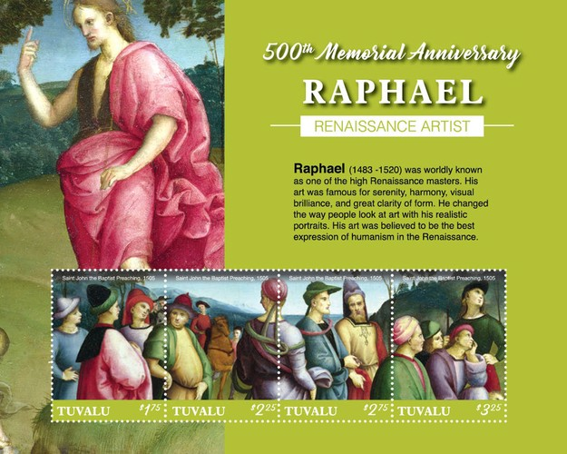 [The 500th Anniversary of the Death of Raphael, 1483-1520, type ]
