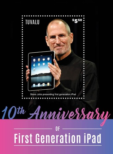 [The 10th Anniversary of the First Generation iPad, type ]