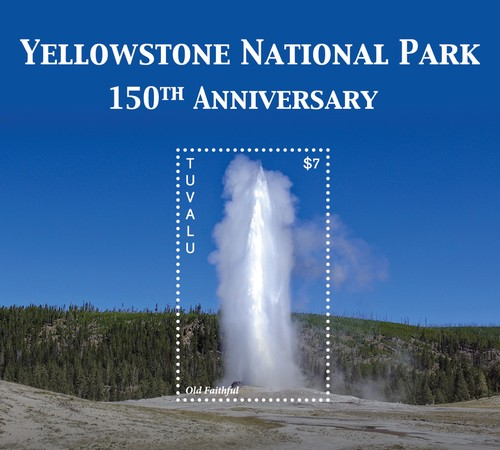 [The 150th Anniversary of the Yellowstone National Park, type ]