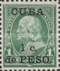 [United States Postage Stamps Surcharged, type AA]