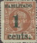 [Puerto Principe Issue - Spanish Cuba Postage Stamps Surcharged, type B]
