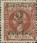 [Puerto Principe Issue - Spanish Cuba Postage Stamps Surcharged, type C]
