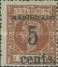 [Puerto Principe Issue - Spanish Cuba Postage Stamps Surcharged, type G]