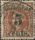 [Puerto Principe Issue - Spanish Cuba Postage Stamps Surcharged, type L]